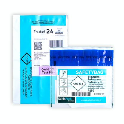 Covid 19 test sample biological bags